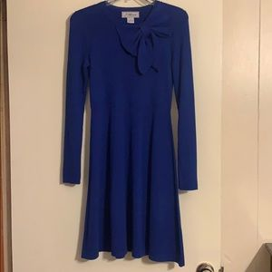 Jessica Howard royal blue sweater dress